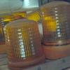 Misc revolving lights in amber or blue, 12v and 24v. Inquire.