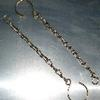 Unimog 406 chains w/ hooks. Used to keep bordwande hooks hooked. New $6.00/pair