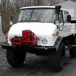 Very Nice 416 doka with Sepson winch.