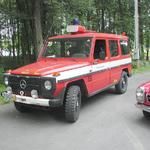 Gwagen 280G Low kilometer fire brigade unit.