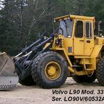 Volvo L90, nice running considering the hours. Shipped off to Peru.