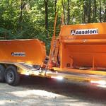 New Assaloni sander and plow delivered to Northern Maine.